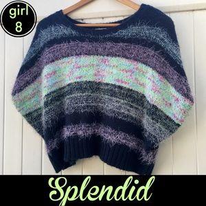 Dolman crop sweater